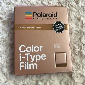 Rose Gold Frame Edition Polaroid Film
